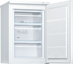 Bosch A++ Rated 56cm Wide Undercounter Static Freezer GTV15NW3AG (White)